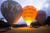 Three of a kind (stevecart84) Tags: hotairballoons wind balloon yarravalley sunrise outdoors nikon d7200 morning nature
