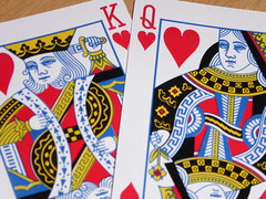 FF wk7: #CoupleOfHearts (m_artijn) Tags: titanic king queen hearts playing cards ff