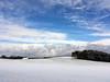 Heiter bis wolkig (Helmut Reichelt) Tags: heiter wolkig felder winter schnee februar geretsried oberbayern bavaria deutschland germany iphonese colorefexpro4