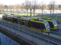 Utrecht: New U-OV Trams (harry_nl) Tags: netherlands nederland 2018 utrecht deuithof uithoflijn uov tram 6006 6008 caf urbos