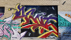 Dent... (colourourcity) Tags: streetart streetartaustralia streetartnow graffitimelbourne graffiti melbourne burncity awesome colourourcity nofilters original dent db