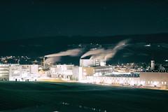 The Flow (*Capture the Moment*) Tags: 2018 architektur building buildings gebäude industrie industry nacht nachtaufnahmen night nightshot schweiz sigma1181835mmart sonya6300 sonyilce6300 switzerland
