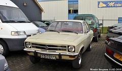 Opel Ascona 1.6S automatic 1972 (XBXG) Tags: opel ascona 16s automatic 1972 opelascona bva automatique oldemarkt nederland holland netherlands paysbas vintage old classic german car auto automobile voiture ancienne allemande deutsch vehicle outdoor 2620um