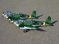 Cobi_Heinkel_He-111_Z-1_Zwilling_MOC_06 (El Caracho) Tags: cobi small army building blocks ww2 warplane plane bomber heinkel he111 zwilling moc