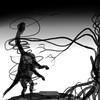 dinosaur brachiosaur is attacked by mutant strangler fig (dinosaurty) Tags: trees figs mutant gmo d dinowar scifi novel fantasy dinosaur b brachiosaurus