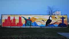 Plur & Gustavo Nénão / Blaisantvest - 16 feb 2018 (Ferdinand 'Ferre' Feys) Tags: gent ghent gand belgium belgique belgië streetart artdelarue graffitiart graffiti graff urbanart urbanarte arteurbano ferdinandfeys plur