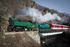 609.76 on the Bridge (D_K_Mihaylov) Tags: steam steamloco steamlocomotive steamlocomotives narrow narrowgauge nature gauge bulgaria bdz bridge