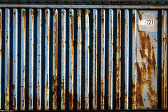 227 (fhenkemeyer) Tags: duisburg minimalistic container rusty blue