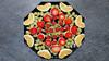 Bildschichten Fruechteteller 23 (wos---art) Tags: früchte arrangements stillleben fotografie bildschichten früchteteller obstteller geschnittenesobst früchtestücke inliebe füresther obst orangen kiwi banane birne himbeeren ananas weintrauben apfel