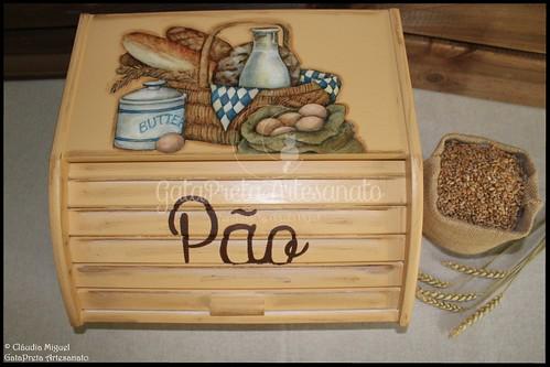 """Caixa para pão """"Rústico"""""""