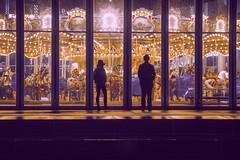 Date night (Alexander Marte Reyes) Tags: nightphotgraphy streetphotography night carousel brooklynbridgepark brooklyn newyorkcity nyc withmytamron nikond750 nikon100