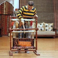 delhi carpets (kexi) Tags: delhi india asia square carpets man shop display many canon february 2017 instantfave vendor trade
