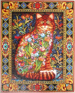 Tapestry Cat (Lewis T. Johnson)