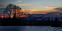 Gelo (FM54TO) Tags: gelo inverno tramonto monviso nuvole