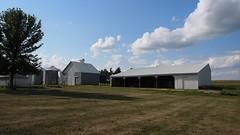 P8120776 (photos-by-sherm) Tags: meredith farm farmstead fields iowa midwest usa flowers trees corn farmland barns sheds summer