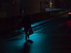 journey back (Cosimo Matteini) Tags: cosimomatteini ep5 olympus pen m43 mzuiko45mmf18 london southbank waterloobridge night evening people man silhouette light paving