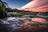 Two faces (Dreamtime Nature Photography) Tags: sunset water falls longexposure poselongue ndfilter countrystylecaravanpark queensland qld australia australie canon canon7dmark2 7dmii