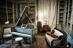 clavecin (Joeydarkroom) Tags: cheverny chateau clavecin instruments vintage renaissance musique loire france nikond7100 nikon
