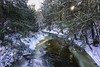 Stone Brook with Sun and Ice (Flapweb) Tags: westford vermont stonebrook landscape winter contre jour