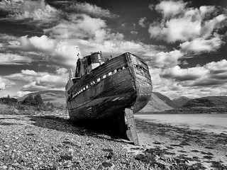 The Corpach Shipwreck