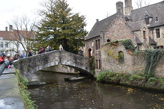 Brugge(Bruges), Belgium. (Manoo Mistry) Tags: nikon nikond5500 tamron tamron18270mmzoomlens brugge bruges belgium europe river sky trees tourism tourist boattour bridge
