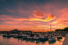 Le Port (Fabrice Denis Photography) Tags: seascapephotography espagne sunset sunsetphotographer bateaux port harbor boats sunsetphotos sea sunsetpics merméditerranée coastal sunsetphotography seascapephotos seascapes seascapephotographer cambrils harbour coastalphotography catalunya es