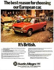 1975 Austin Allegro 2 (aldenjewell) Tags: 1975 austin allegro 2 ad