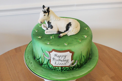 Horse Equestrian Birthday Cake