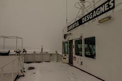 Port Bridge Wing Door (langdon10) Tags: canada canon70d laurentiadesgagnes quebec ship tanker nautical outdoors snow winter