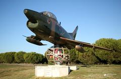 5463 Fiat G.91R/3, Portuguese Air Force, Air Base No. 6, Montijo, Portugal (Kev Slade Too) Tags: 5463 fiat g91 portugueseairforce airbaseno6 montijo portugal memorial lpmt