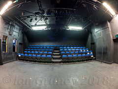 Frairgate 7987 (stagedoor) Tags: york lowerfriargate friargatetheatre studio ridinglightstheatre building architecture olympus omdem1mkii copyright northyorkshire yorkshire city cityofyork theatre theater teatro inside seating stalls