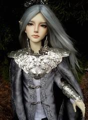 Silver Knight of Faerie (Azurielle) Tags: fantasy latidoll largo bjd abjd dollfie asianballjointeddoll balljointeddoll angeltoast nightmarketbjd apoemwithnowords doll bakery elf fairy faerie azuriellesgrove