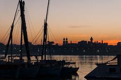 Sonnenaufgang am Nil (_Papyrus) Tags: nil ägypten luxor sonnenaufgang lumixg70 gvario14140