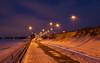 Follow the line (Antti Tassberg) Tags: lighttrail 24mmts landscape longexposure ilta talvi kaupunki espoo suomi 24mm city cityscape evening finland lens prime scandinavia tiltshift twilight urban winter uusimaa fi