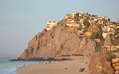 mansions on the hillside above the Pacific Ocean (jimbobphoto) Tags: mexico cabo ocean rich pacific homes