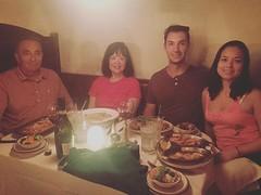 #aftertherace #dinner #italianrestaurant #mariosormondbeach #chiantiwine #goodfood #lifeisgood #vealchop #vealparmigiana #linguinewithscungili #shrimpandscallops #lifeisgood😎 (mikeyes2) Tags: february 18 2018 0800pm aftertherace dinner italianrestaurant mariosormondbeach chiantiwine goodfood lifeisgood vealchop vealparmigiana linguinewithscungili shrimpandscallops lifeisgood😎
