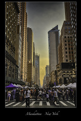 Manhattan - NYC (vonhoheneck) Tags: newyork manhattan city usa schölkopf schoelkopf canon eos6d bigapple eastriver hudson themet centralpark nyc water beach river sea sunset nypd timesquare people