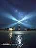 Cape Lookout: Morehead City, North Carolina (Lerro Photography) Tags: lighthouse cape lookout capelookout outer banks outerbanks milky way milkyway night sky long exposure longexposure north carolina northcarolina nc