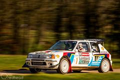 Peugeot 205 T16 (nic_r) Tags: peugeot 205 t16 peugeot205t16 205t16 groupb rally rallying raceretro kevinfurber motorsport nikon d500