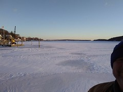 When I took this picture last Saturday. 1/6/18. It was 9 degrees out and the wind chill was about 9 below. It is 50 today. Long Island winters are always crazy (dylangaughan43) Tags: cold ice frozen winter newyork cameraphone lg