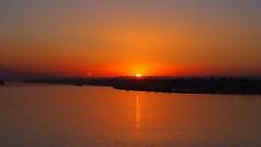 (nanisalleh) Tags: rivernile river cruise nile nilecruise sun sunset dusk twilight