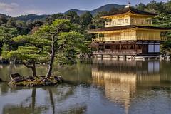 kinkaku-ji (21mapple) Tags: kinkakuji japan kyoto japanese buddhist zen garden temple lake pond reflections refelection