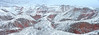 Zhangye Danxia Landform 丹霞地貌 (MelindaChan ^..^) Tags: 張掖 丹霞地貌 gansu china 甘肅 danxia landform danxialandform 丹霞 地貌 nature color colorful land chanmelmel mel melinda layers melindachan snow ice icy weather winter mountain rock