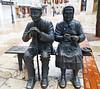 Burgos Escultura estatuas de dos ancianos sentados en un banco (Rafael Gomez - http://micamara.es) Tags: escultura estatuas de dos ancianos sentados en un banco burgos la calle