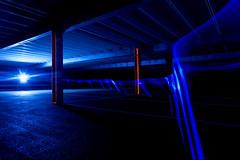 ARI hospital car park-5.jpg (___INFINITY___) Tags: 6d arihospitalcarpark aberdeen godoxad360 architect architecture blue building canon canon1740f4 carpark darrenwright dazza1040 eos flash infinity light lightpainting night scotland strobist
