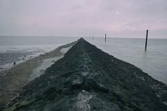 Horizon (Michael Eickelmann) Tags: horizon horizont sea meer north norden nordsee stones steine water wasser wide weite neuharlingersiel mud watt germany deutschland panasonic lumix fz200