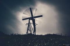 Cloud Dissolver Machine (LeWelsch Photo) Tags: windmill windmuehle cloud cloudporn dissolver foggy lut 3dlut bokeh rotation lte grabenmühle grabenmuehle scherligraben bern switzerland a6000 ilce6000 sel55210 lewelsch lewelschphoto