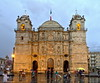 Cathedral in the rain (Chemose) Tags: mexico mexique oaxaca cathédrale cathedral church église baroque hdr canon eos 7d mars march pluie rain