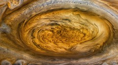 Jupiter's Great Red Spot - July 8 1979 (Kevin M. Gill) Tags: jupiter greatredspot grs voyager voyager2 voyagerii nasa jpl planetary science astronomy space