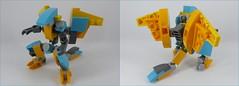 "FT-1X ""Balaur"" (phayze81) Tags: lego moc mobileframezero mobileframe dragon mfz mf0 mech mecha microscale scifi sciencefiction legophotography toyphotography"